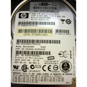 HP 375859-B21 HP 36-GB SAS