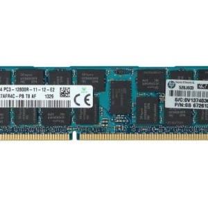 Memoria HP 16GB PC3-12800R (DDR3-1600)  684031-001 - 672612-081 Proliant  HP G8 -DL160 ML350E BL420C SL230 GEN8 DL380 DL380P - Estuche  Garantia : 12 Meses