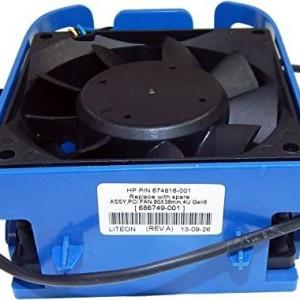 HP ProLiant ML310e G8 Internal Cooling Fan  674816-001 686749-001 Retirado de Equipo en uso Garantia 6 Meses
