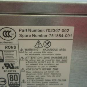Fuente HP ELITEDESK 800 G1 SFF PC POWER SUPPLY 240W 751884-001 702307-002  HP ProDesk 800 G1  HP ProDesk 600 G1 HP ProDesk 400 G1- Retirado de equipo en uso Garantia 12 Meses