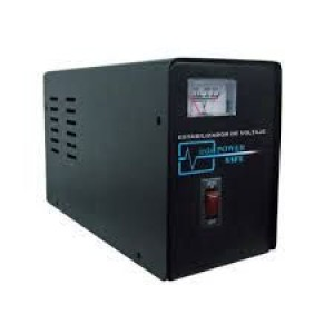 Estabilizador Elise Ieda Poder Safe LCR15-4.5%, Solido, 1.5kVA, 220VAC, 4 tomas a 220VAC.