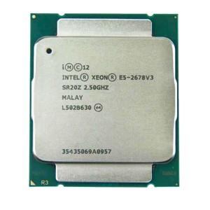 Procesador Xeon  INTEL XEON E5-2678 V3 2.50GHZ 30M 12CORES 5GT/S 120W  E5-2680 V3 - Para Servidor DL380 G9 -  Retirado de Equipo en uso Garantia 12 Meses