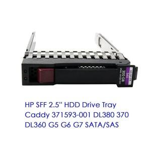 HP Tray 500223-001 378343-001 para 2.5'' SAS/SATA Drive DL360 DL380