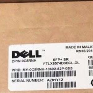 Transceiver Dell 10G SFP+ SR C5RNH FTLX8574D3BCL-DL C5RNH