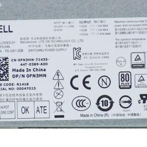 Fuente Dell Optiplex 3020 7020 9020 SFF PSU 255W  NT1XP V9MVK FN3MN - Retirado de equipo en Uso