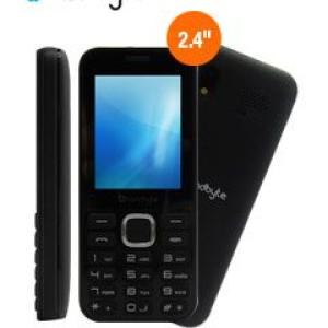 "Teléfono celular básico LandByte LT1030, 2.4"" 240x320, Dual SIM, Radio FM, Desbloqueado Banda 2G (850/900/1800/1900 MHz), conectividad Bluetooth, procesador Spreadtrum SC6531DA, memoria RAM 3"