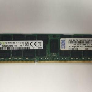 IBM 16GB  PC3-10600 DDR3-1333MHz ECC Registered CL9 240-Pin DIMM  47J0182 00D4966  00D4964 : IBM X3650 y X3550 M3 y M4 - Producto usado