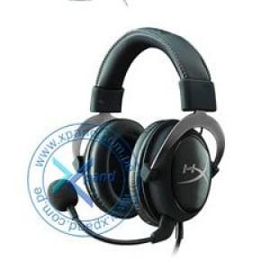 Auriculares Kingston HyperX Cloud II, micrófono, conector 3.5mm, Negro / Gun Metal. Respuesta de frecuencia 15 Hz - 25000 Hz, Impedancia 60 ohmios por sistema, tipo de transductor dinámico 53