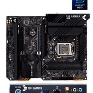 Motherboard Asus TUF Gaming Z590-PLUS WIFI, LGA1200, Intel Z590, DDR4, LAN, WiFi, USB. Soporta procesadores de 11ava Generación Intel Core i9 / i7 / i5 / i3 / Pentium Gold / Celeron, 4 x DDR4