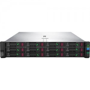 HPE ProLiant DL380 Gen10 Intel Xeon-G 5220 18-Core (2.20GHz 24.75MB L3 Cache) 32GB (1 x 32GB) PC4-2933Y RDIMM 8 x Hot Plug 2.5in Small Form Factor Smart Carrier Smart Array P408i-a NC SR No O