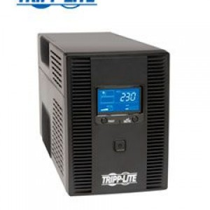 UPS Tripp-Lite SMX1500LCDT, Interactivo, 1500VA, 900W, 220V, 8 tomas C13. Pantalla LCD, protección RJ-11 y RJ-45, administración USB.