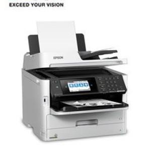 Multifuncional de tinta Epson WorkForce Pro WF-M5799, imprime/escanea/copia/fax, WiFi. Imprime 34 ppm, 1200 x 1200 dpi, escaner de 1200 dpi, 1 bandeja frontal de 250 hojas, bandeja opcional 5
