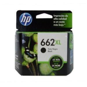 Cartucho de tinta HP 662XL - Negro Original - Inyección de tinta