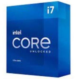Procesador Intel Core i7-11700K 3.60 / 5.00 GHz, 16 MB Caché L3, LGA1200, 125W, 14 nm. Controlador Grafico Intel UHD Graphics 750, Compatible con tecnologias de Intel Optane Memory, Deep Lear