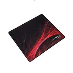 Mouse Pad Gaming Kingston HyperX Fury S, Negro, Rojo Tela/Caucho, 3mm, 45 x 40 cm. FURY S tiene bordes cosidos anti-deshilachados sin costuras para resistir el desgaste diario.