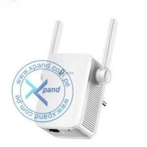 Extensor de Cobertura TP-Link AC1200, Dual Band, 2.4GHz / 5GHz, 802.11 a/b/g/n/ac, LAN. Tasa de señal 867 Mbps (5 GHz) / 300 Mbps (2.4 GHz), 2 antenas externas, 1 puerto LAN Fast Ethernet (10