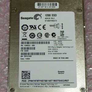 """Disco Solido 400GB SAS  Seagate 1200 SSD 2.5""""  ST400FM0073  1GM262-080 - Para servidores - Retirado de Equipo en uso  Garantia 12 Meses"""
