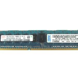 IBM 49Y1424 4GB (1X4GB) 1333MHZ PC3-10600 240-PIN SINGLE RANK X4 CL9 LP ECC  DDR3