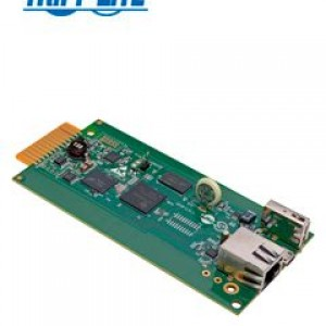 Módulo de Interfaz de Red / SNMP de Plataforma LX - Administración Remota de Enfriamiento. Convierte unidades de aire acondicionado selectas de Tripp Lite en dispositivos administrables en re