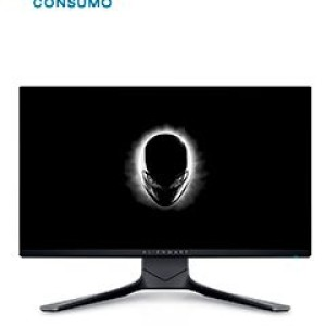 """Monitor Alienware 25 Gaming AW2521HF, 24.5"""" Fast IPS 1920 x 1080, Backlight LED 2x HDMI 2.0, DP 1.2, USB 3.0 upstream, 4x USB 3.0 downstream (1 with Power Charge), 1x Headphone-out jack, 1 x"""