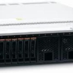 Servidor IBM x3650 M4 2 Procesadores  E5-2670 V2  de 10 core cada uno total 20 Core Fisico,  Memoria RAM 64GB 8 Bahias de 2.5 SFF DVD-ROM Fuente Poder 2 X 550W - 2 Discos de 1.8TB SAS  de 10K