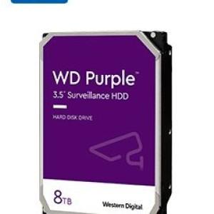 Western Digital WD Purple - Hard drive - Internal hard drive