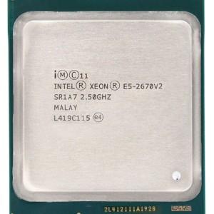Procesador Intel Xeon  E5-2670V2 10 Core 2.50GHz 25M 8 GT/s 115W  Retirado de Equipo en uso Garantia 12 Meses