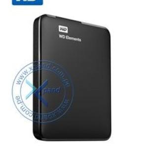 Disco Duro Pórtatil WD Elements WDBUZG0010BBK - Externo - 1TB - USB 3.0 - 2Año(s) Garantía - Al por menor